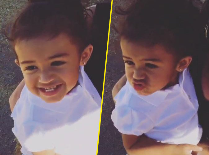 Photos : Chris Brown : sa fille Royalty est une pro des grimaces !
