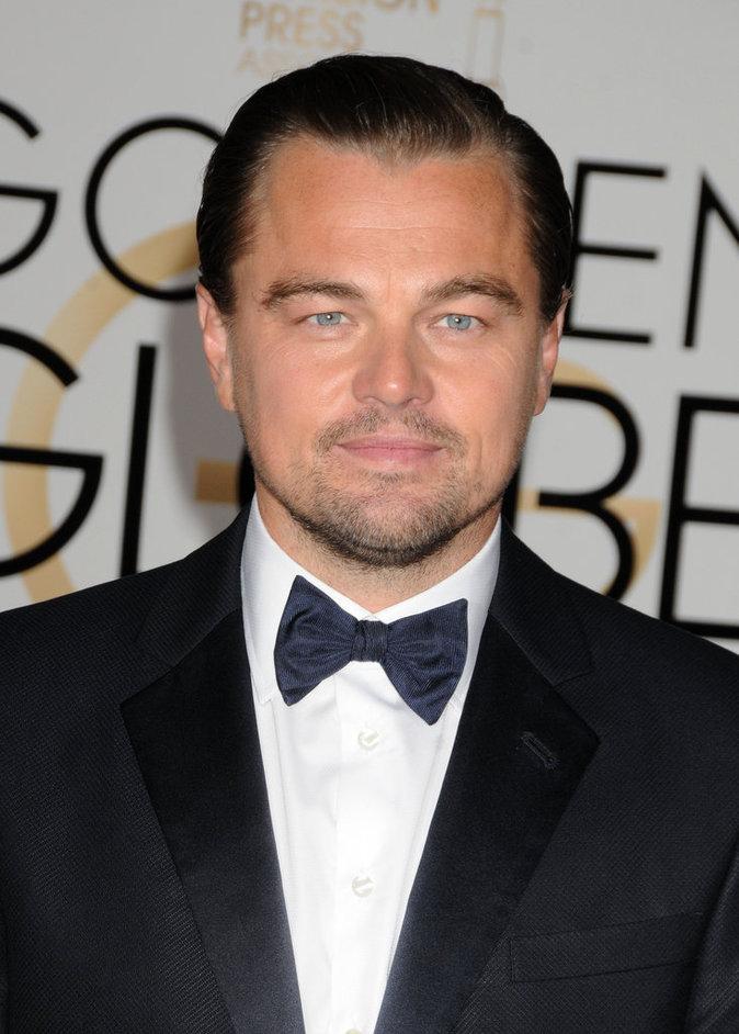 Leonardo Dicaprio a reçu un award aux Golden Globes