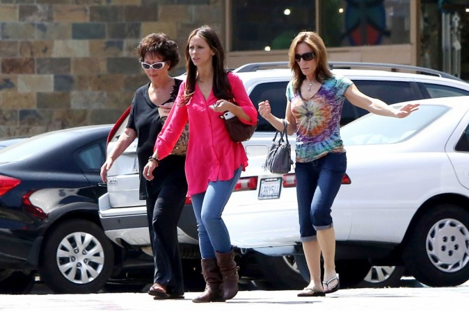 Jennifer avec sa maman !