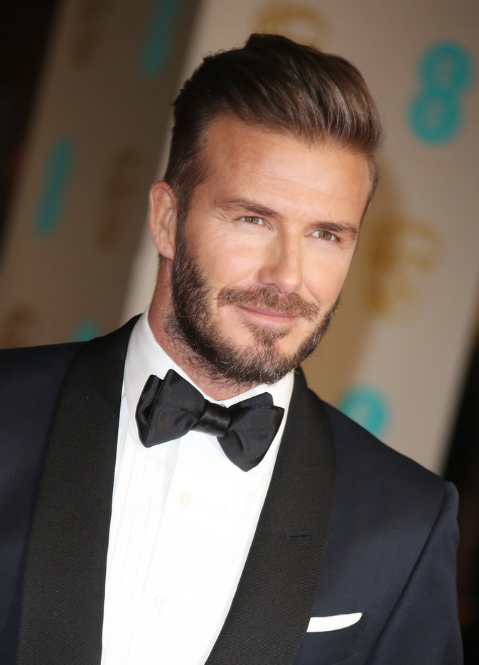 David Beckham à la Cérémonie des British Academy of Film and Television