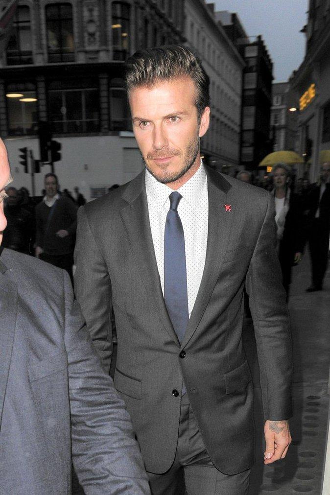 David Beckham à une soirée