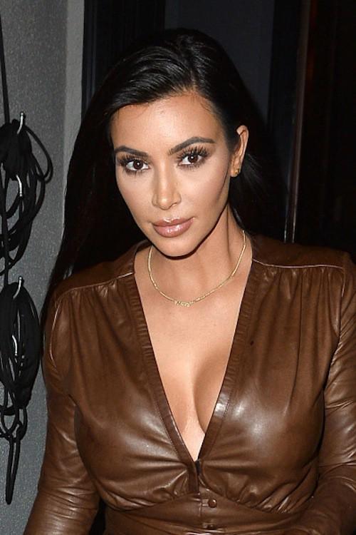 Kim Kardashian à Los Angeles, le 26 janvier 2015 !