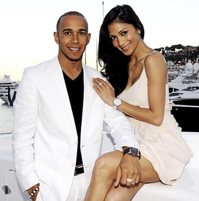 Nicole Scherzinger et Lewis Hamilton = 6 ans de différence !