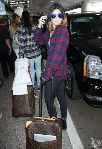 Kylie Jenner à Los Angeles le 2 avril 2014