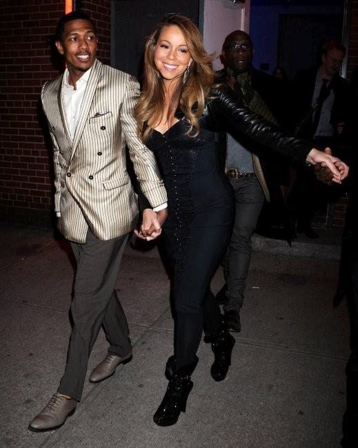 Entre Mariah et Nick c'est le big love !