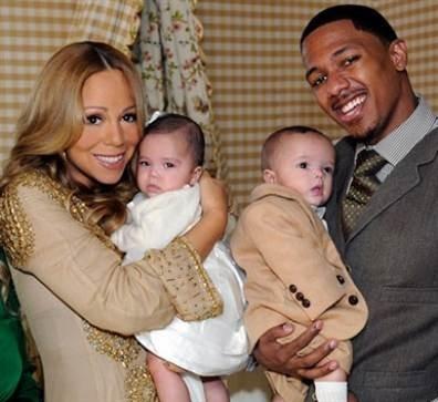 Mariah Carey en famille avec son mari et ses jumeaux, Monroe et Moroccan...