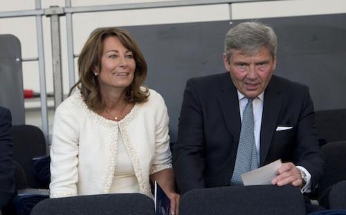 Carole et Michael Middleton au Coronation Festival en l'honneur de la reine Elizabeth II