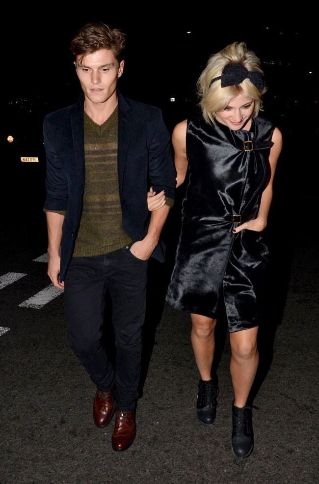 Pixie Lott et son top de boyfriend