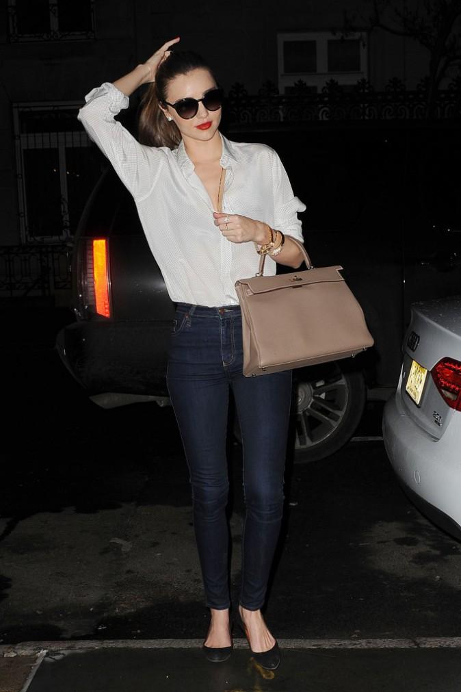 Les réchauffées : Miranda Kerr à New York !