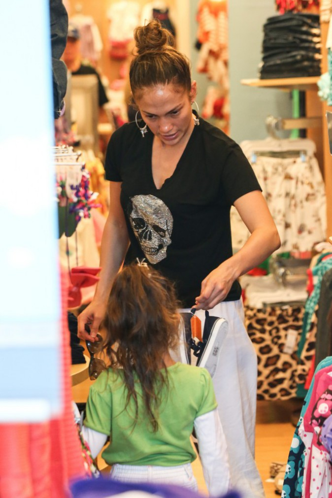 J-Lo et sa fille Emme à Los Angeles