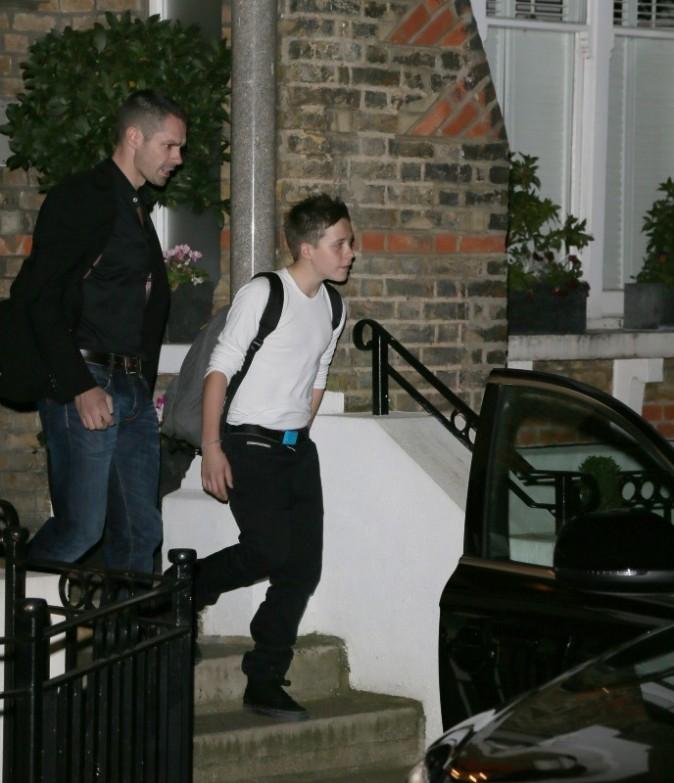 Brooklyn Beckham à Londres, le 22 novembre 2012.