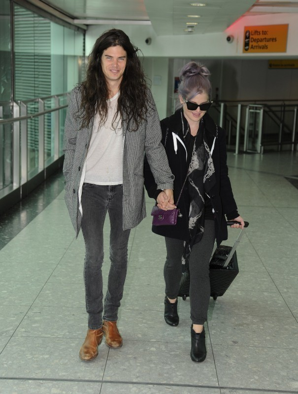 Kelly Osbourn et Matthew Mossheart, Londres, 26 octobre 2012