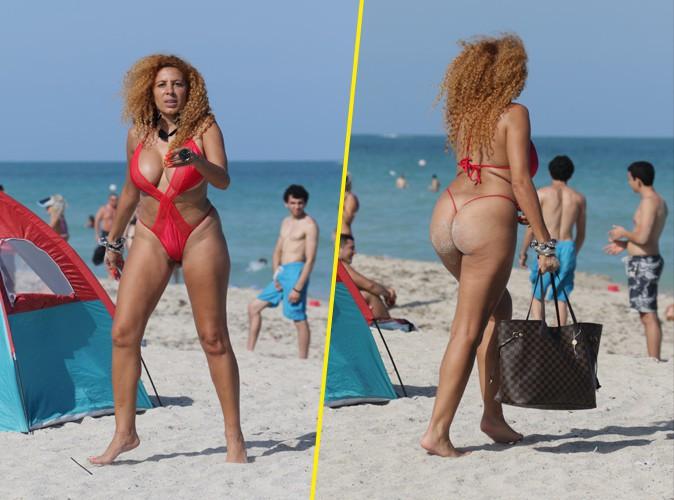 Afida Turner : en bikini rouge, elle donne tout à Miami !