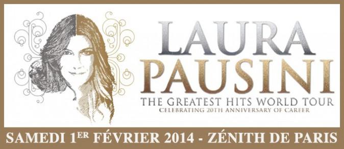 Février : Laura Pausini en concert au Zénith de Paris !