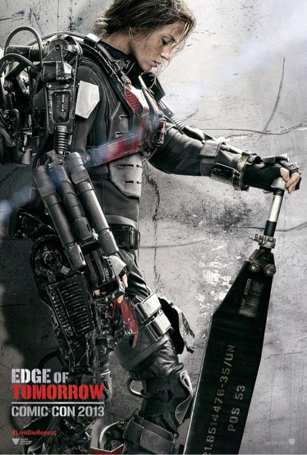 Mai : Edge of Tomorrow avec Tom Cruise et Emily Blunt.