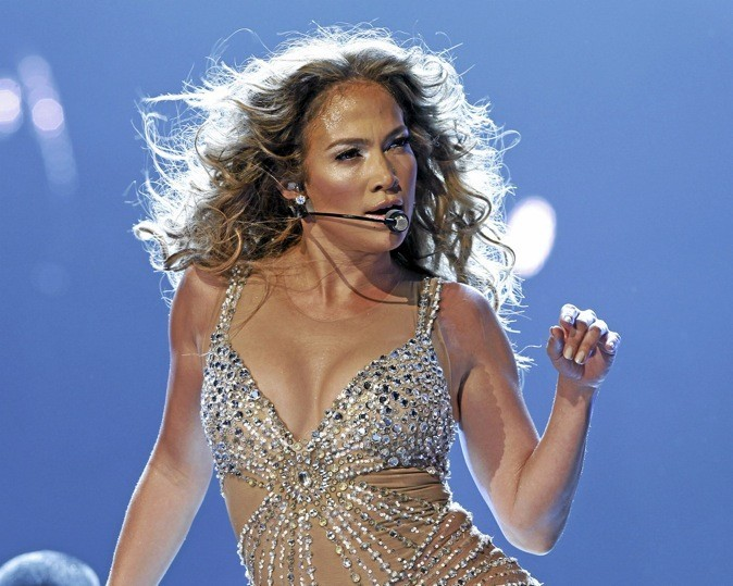 J. Lo chante à Bercy Dans le cadre de son Dance Again World Tour !
