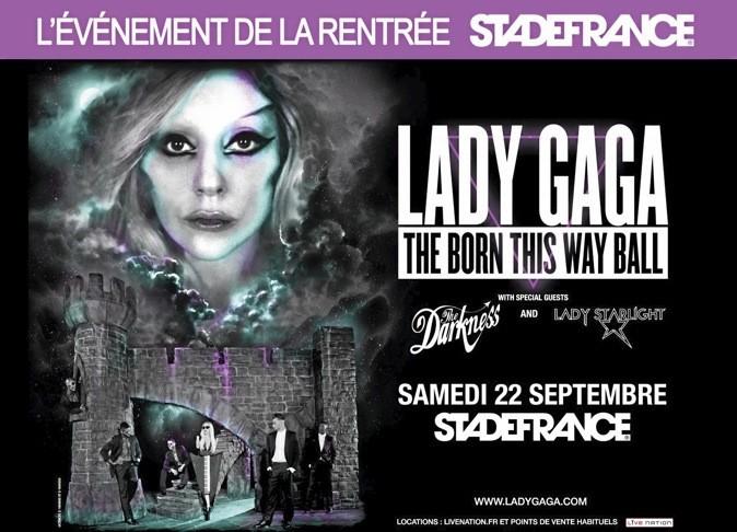 Lady GaGa investit le Stade de France !