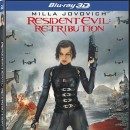 Et en 3D sur Blu-Ray. Resident Evil Retribution 3D, Blu-Ray Metropolitan. 29,99 €
