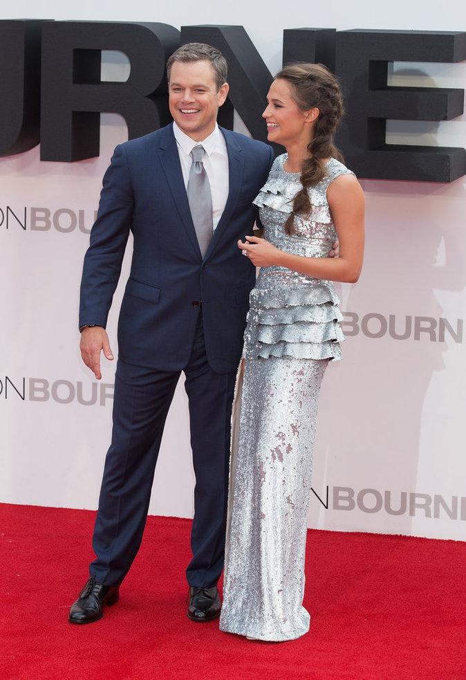 Matt Damon et Alicia Vikander
