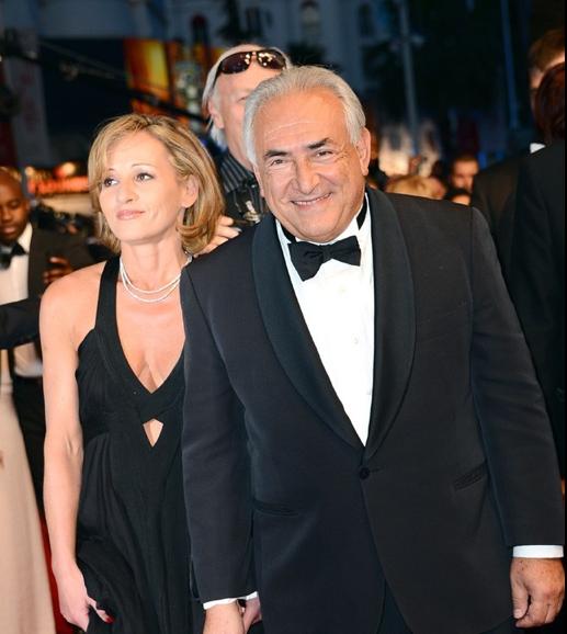 DSK et sa compagne au Festival de Cannes 2013 !
