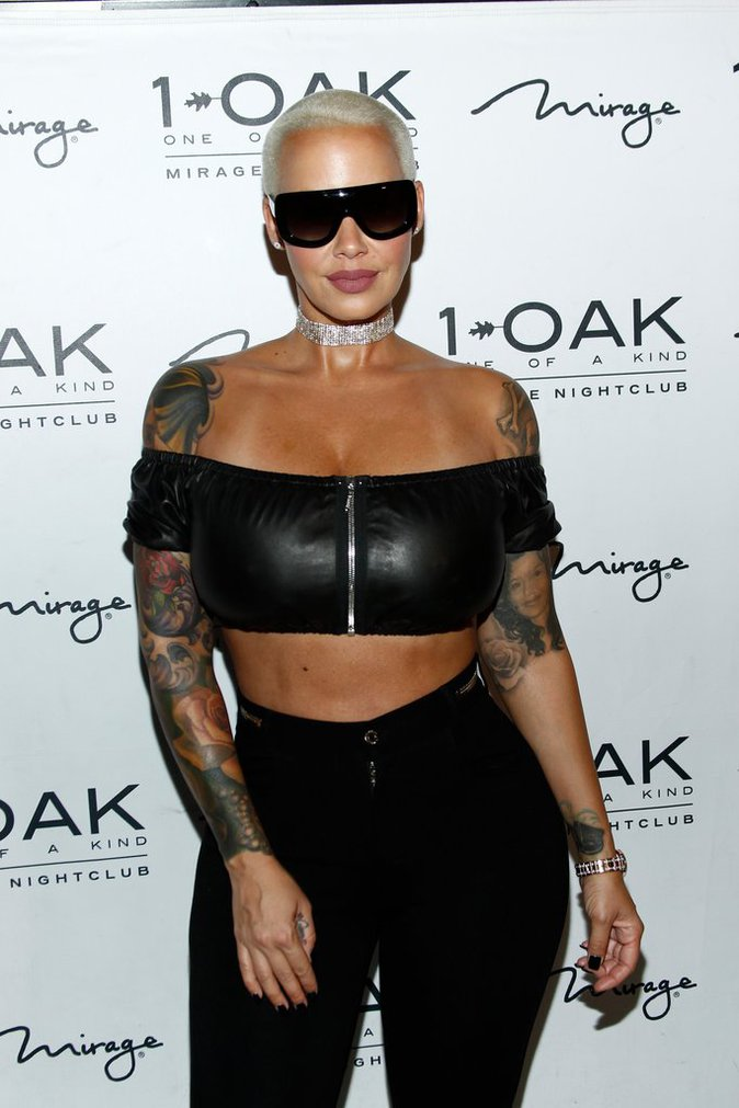 Amber Rose à Los Angeles le 16 juillet 2016