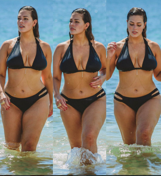 Ashley Graham fait monter la température au Mexique !