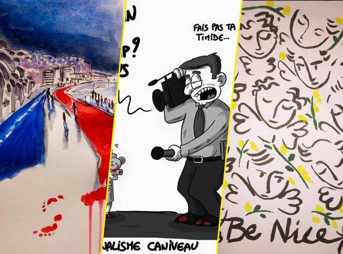 Attentat de Nice : émotion et colère chez les caricaturistes