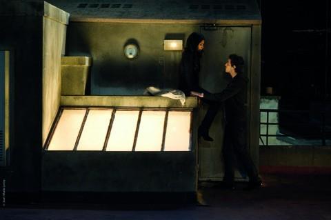 La scène sur le toit, l'une des préférées de Benjamin...