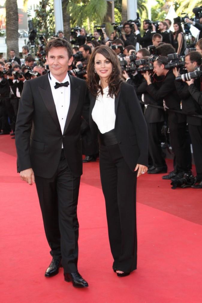 Bérénice Bejo et Michel Hazanavicius au Festival de Cannes