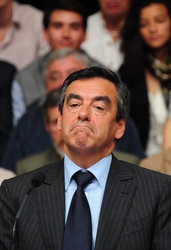 François Fillon fait la moue...