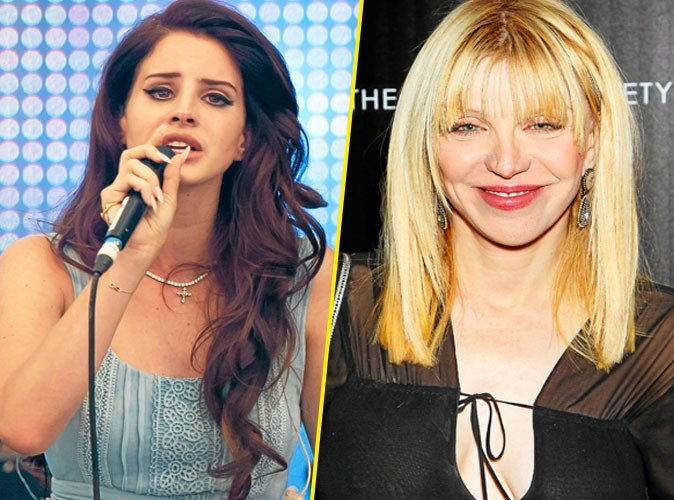 Courtney Love VS Lana Del Rey