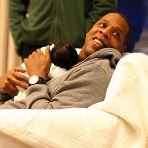 Jay-Z et sa fille Blue Ivy...