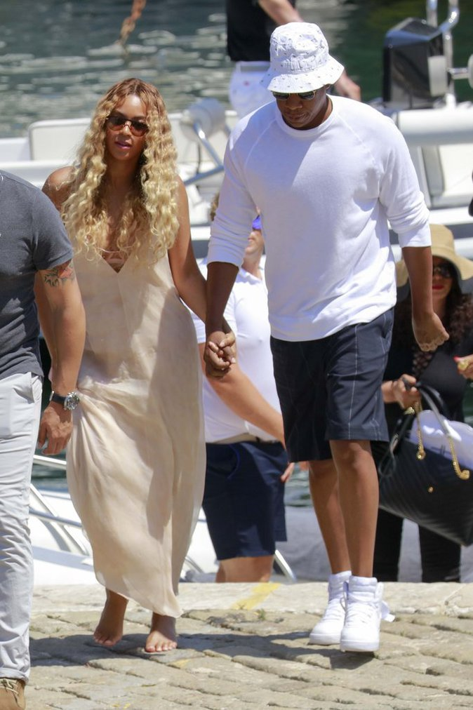Beyoncé et Jay-Z, en vacance dans le sud