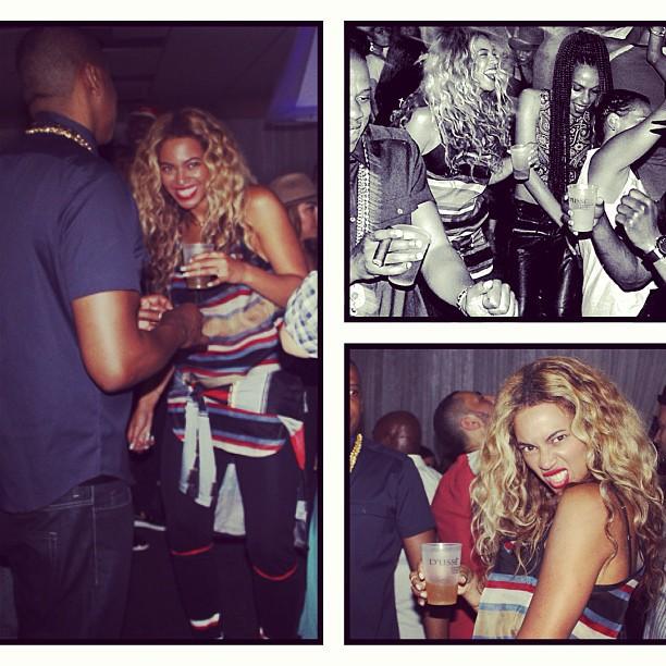La piste de danse est son royaume, Beyoncé est déchainée !
