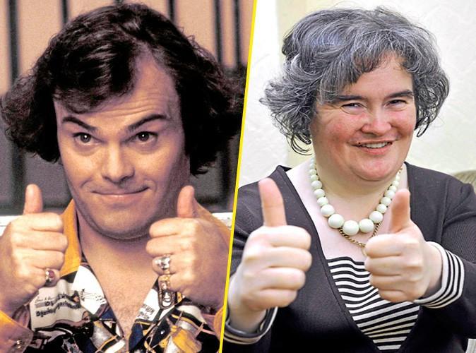 Susan Boyle et Jack Black !
