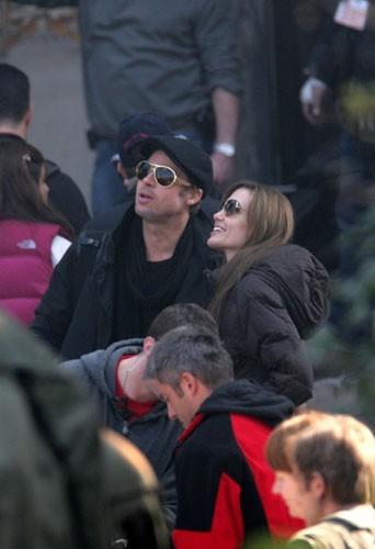 2010 : Brad Pitt et Angelina Jolie à Venise