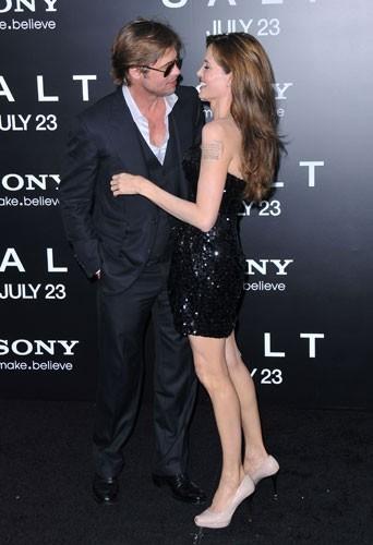 2010 : Le couple à l'avant 1ère de Salt à Hollywood