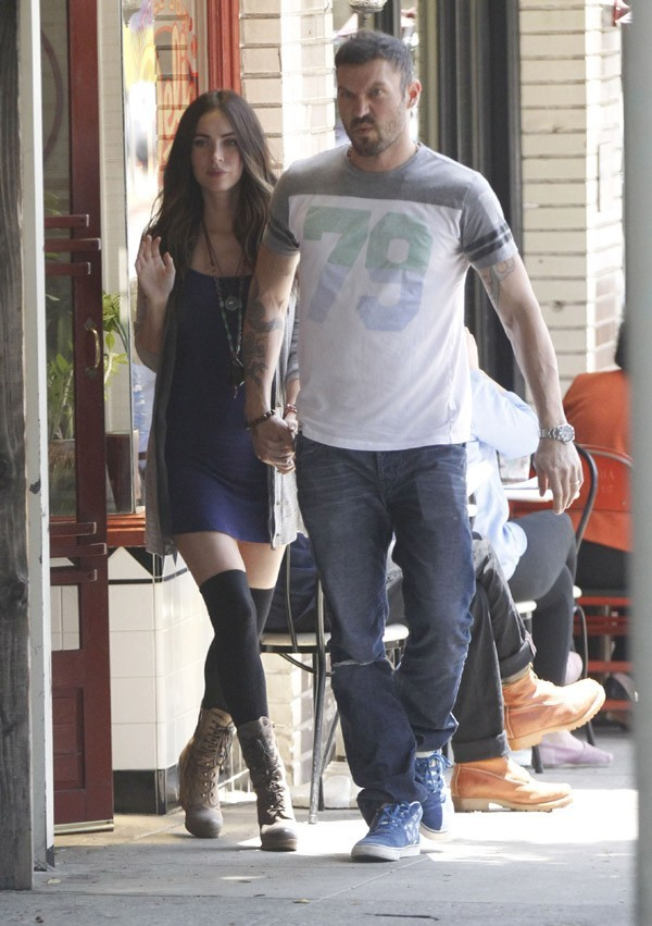 Megan Fox et Brian Austin Green à Los Feliz le 16 juin 2012