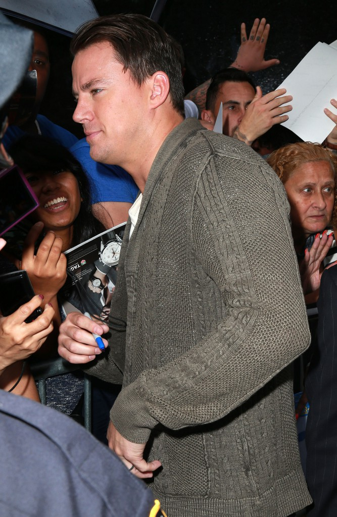 Channing Tatum le 23 juin 2015