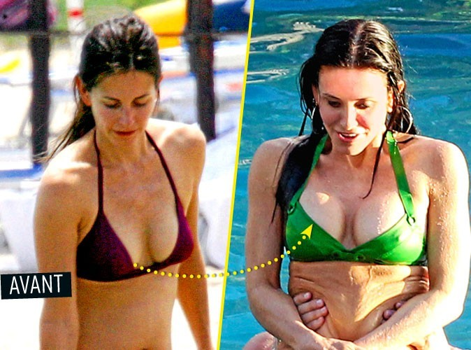 Chirurgie esthétique : Courteney Cox s'est fait refaire les seins