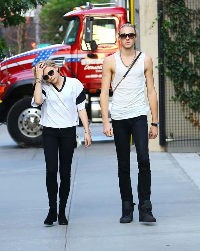 Chloë Moretz et son frère Trevor à New York, le 29 juillet