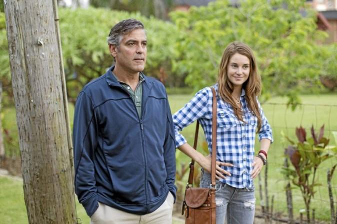 Clooney incarne avec justesse un mari et un père déphasé