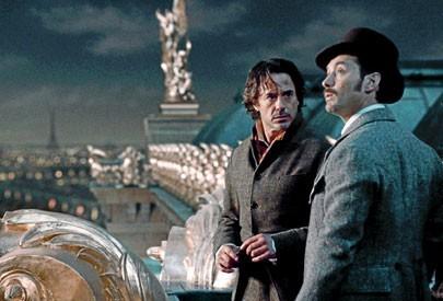 Sherlock (Robert Downey Jr) et Watson (Jude Law)