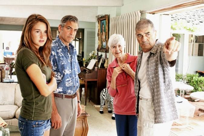 The Descendants d'Alexander Payne avec George Clooney et Shailene Woodley (1h50) : Génialissime !
