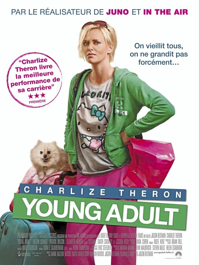 L'affiche du film Young Adult avec Charlize Theron