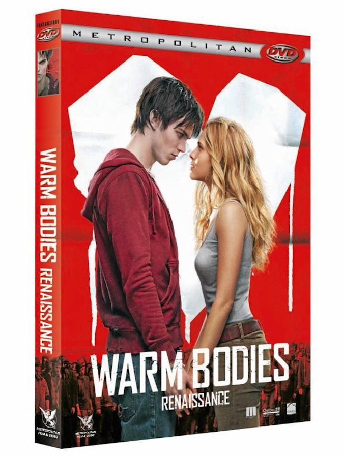 DVD : Warm Bodies Renaissance Metropolitan. 19,99 €.