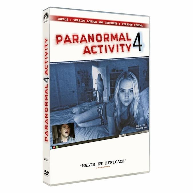 Paranormal activity 4 de Henry Joost et Ariel Schulman, Paramount. 19,99 €.