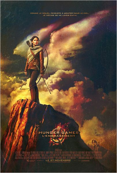Hunger Games : l'embrasement, sortie le 27/11/13