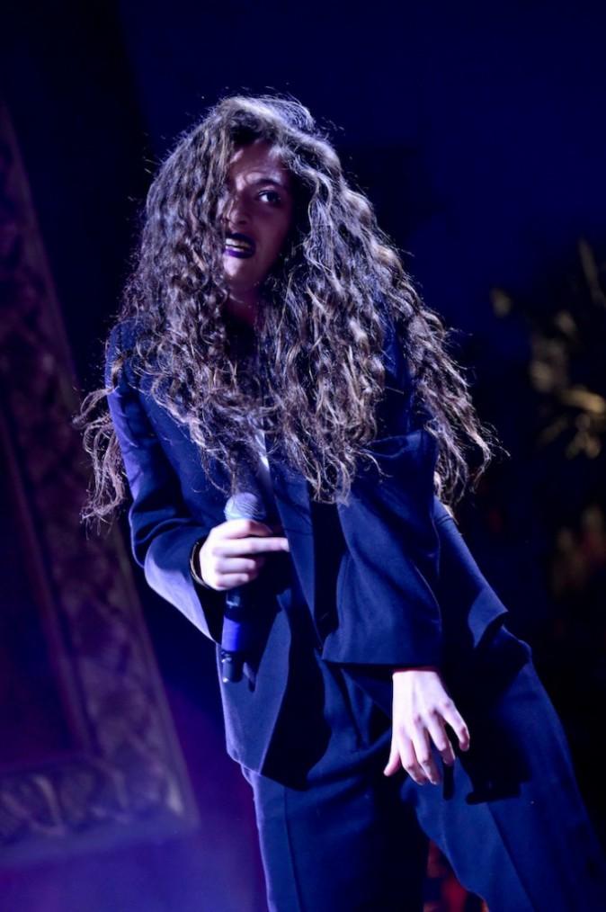 Lorde sur scène au festival de Coachella