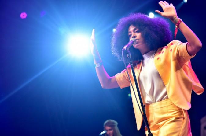 Solange Knowles sur scène à Coachella